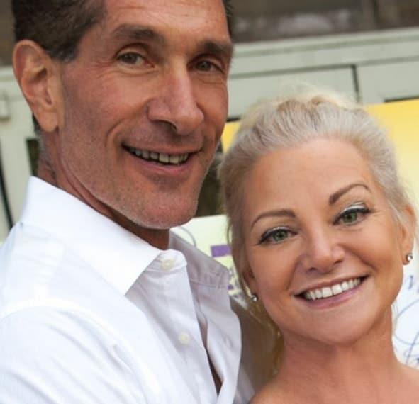 Julie Michaels With husband Peewee Piemonte