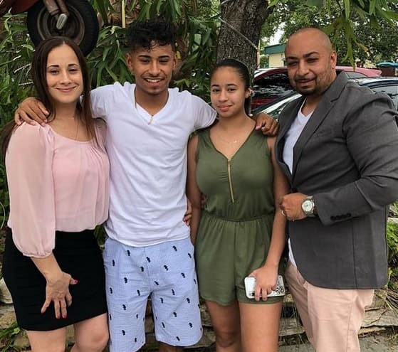 Jaden Newman and Family