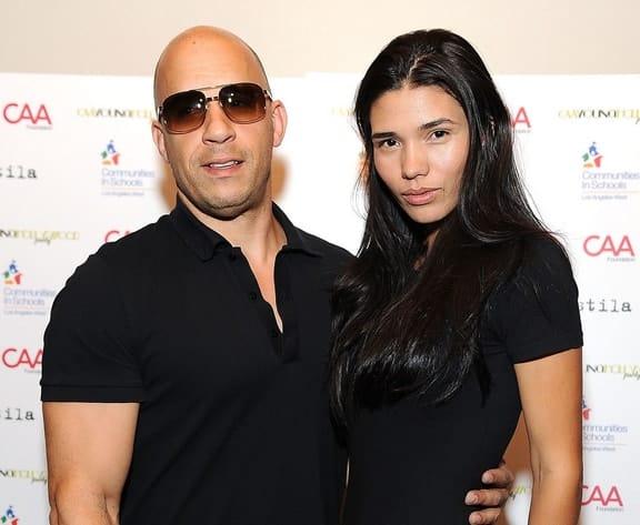 Wife Paloma Jiménez and Vin Diesel