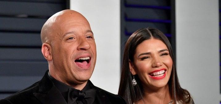 Vin Diesel and Wife Paloma Jiménez