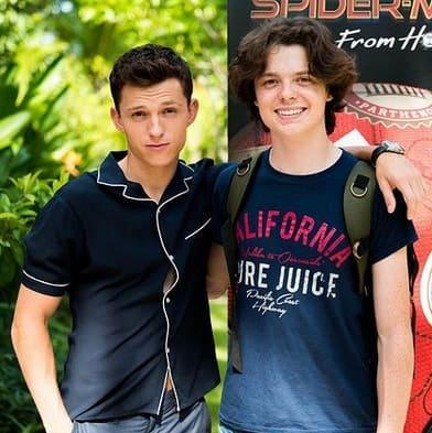 Sam Holland and Tom Holland