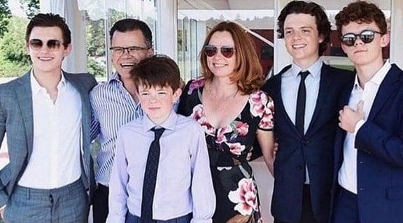 Sam Holland Family