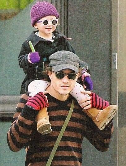 Matilda and Heath Ledger