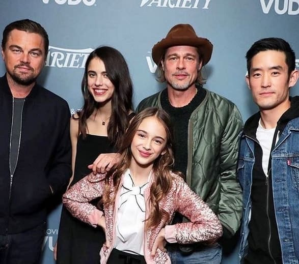 Julia and Once Upon a Time in Hollywood cast